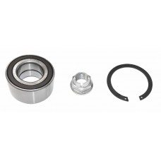 Front wheel bearing kit for vehicles with ABS