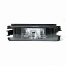 Licence plate lamp